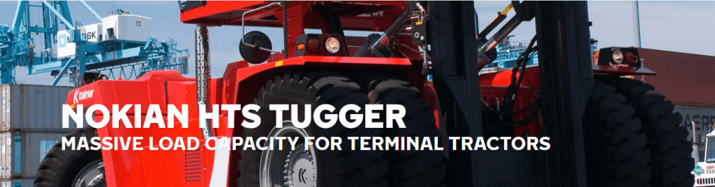 Terminal Tractor tires
