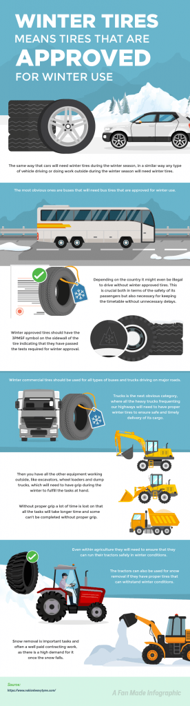 winter commercial tires
