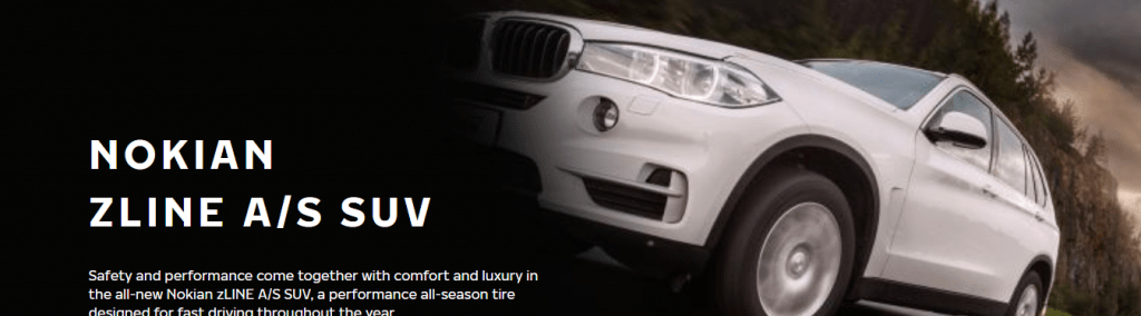 SUV All-season tires